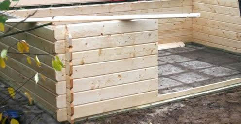 Goedkope Vloer Oplossing : Vloer als fundering tuinhuis site goedkoop tuinhuisje bouwen