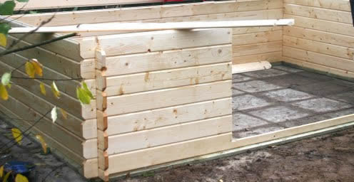 Praxis tuintegels hout